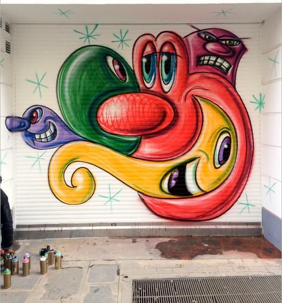 Colette Mural