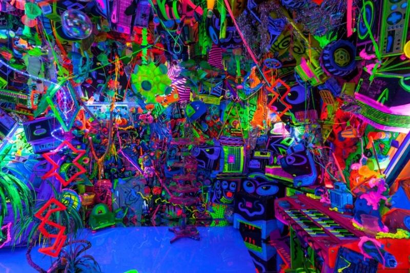 Cosmic Cavern # 33<br/>Portland Art Museum<br/>Portland, Oregon.<br/>2015-2106