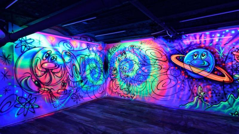 "Cosmic Cavern # 40<br/> ""FUNUNDERWORLD""<br/>2019"